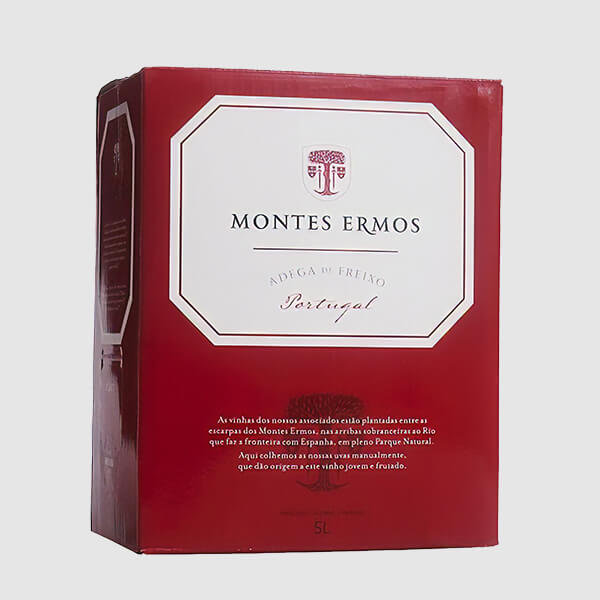 Monte Ermos Bag-in-Box 5 Litros Tinto
