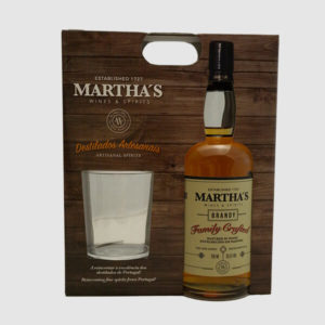 Brandy Familia Craft Martha´s 70Cl Gift copo