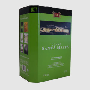 Santa Marta Bag-in-Box 5 Litros Branco